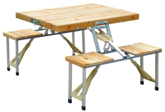 table de camping Homcom
