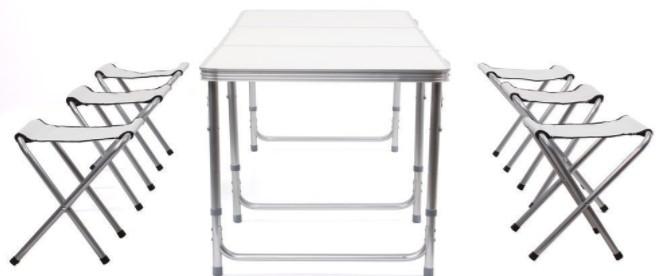 table de camping pliante Amzdeal