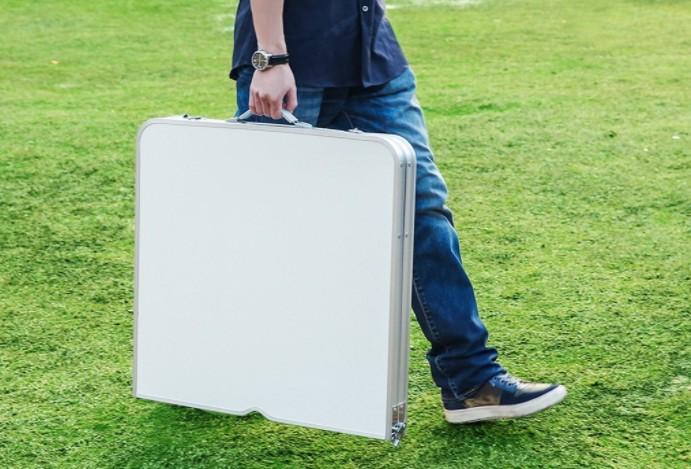 table de camping pliante et portable finether test